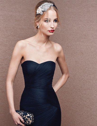 Узкое вечернее платье русалка.