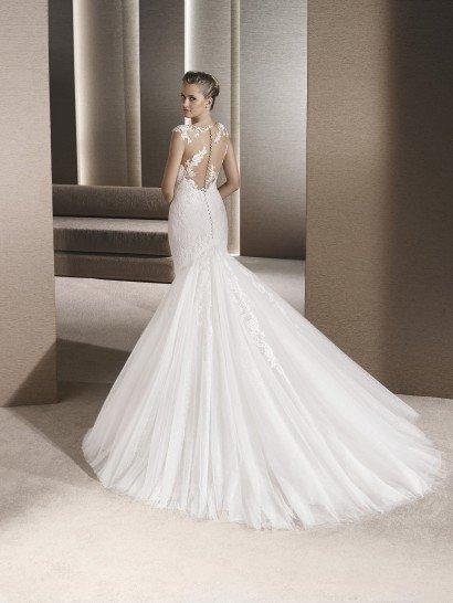 Свадебное платье рыбка.