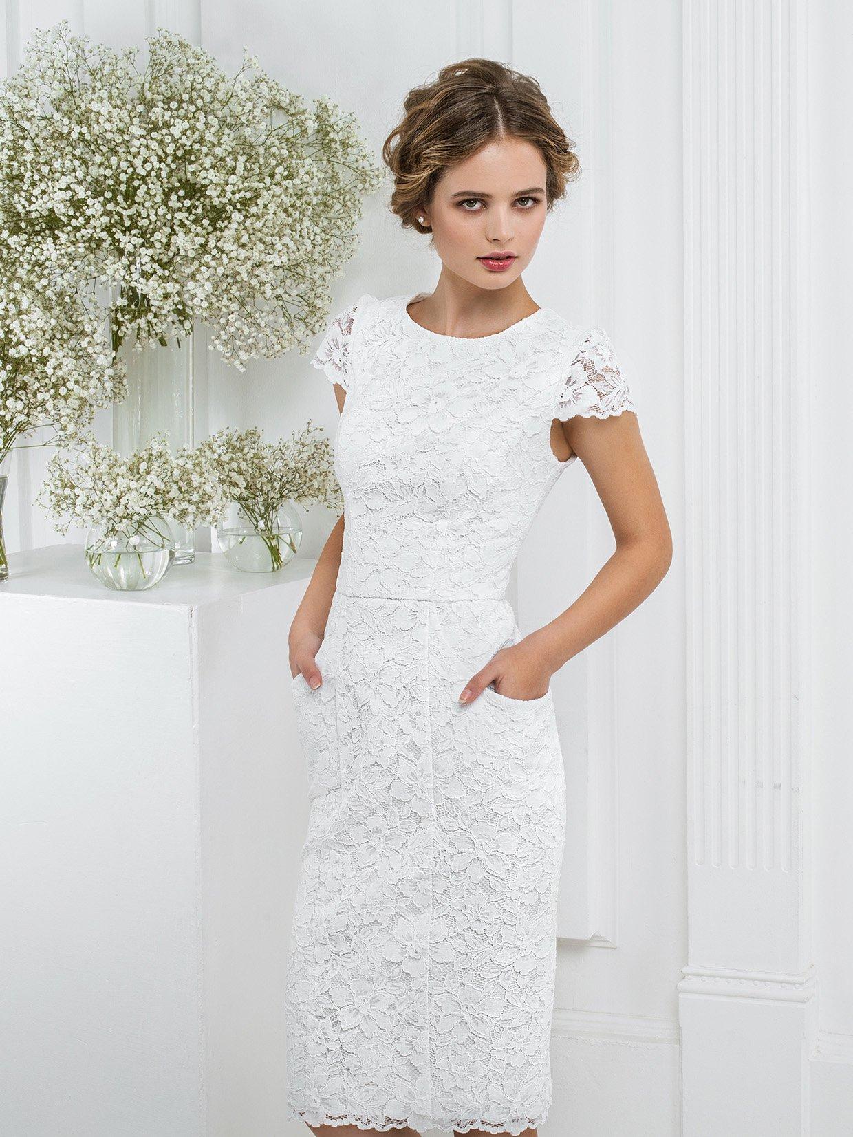Свадебные Платья Короткие Недорого