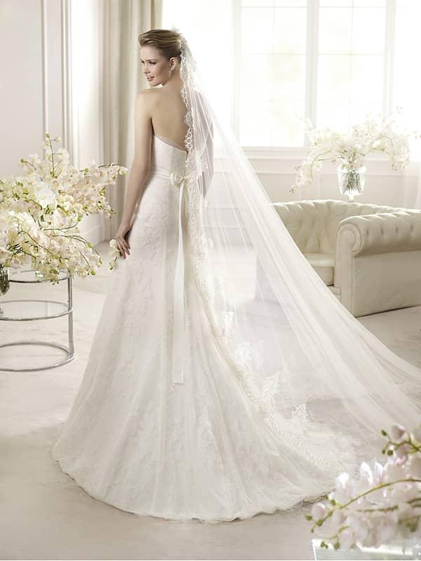Ажурные свадебные платья 2013 фото 12