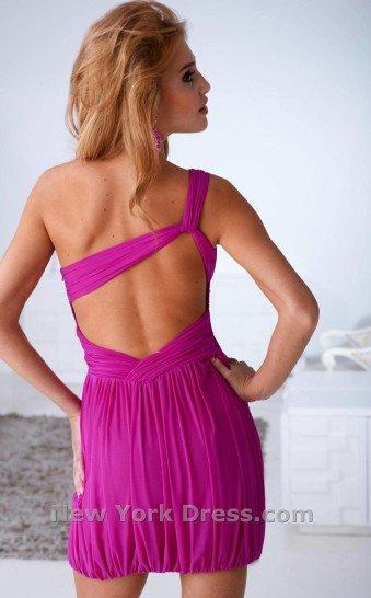 Недорогое короткое вечернее платье за 7000 руб.