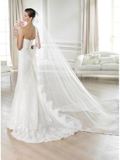 Свадебное платье русалка 2015.