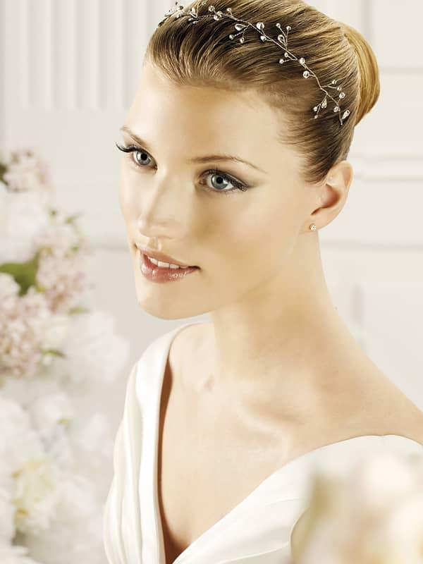 ✓ Свадебный аксессуар для волос T9-2401. ✆ +7 495 627 62 42 ★ Салон Виктория Ⓜ Арбатская Ⓜ Смоленская