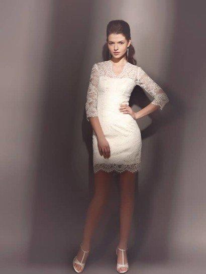 Свадебное платье-мини Беланте.