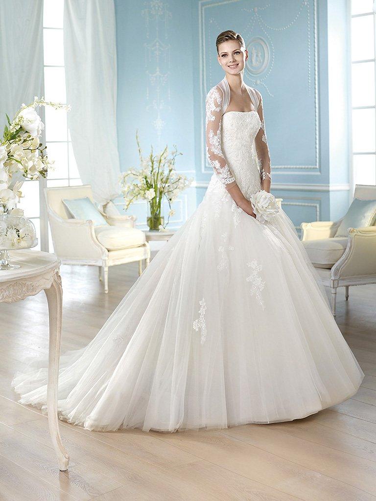Пышные свадебные платья фото 2015 фото