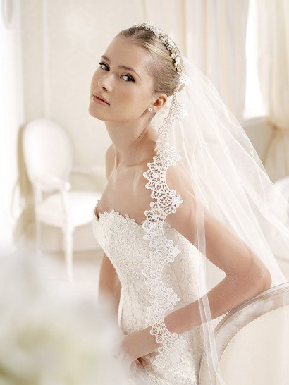 Свадебное платье IDALINA by La Sposa 2016.