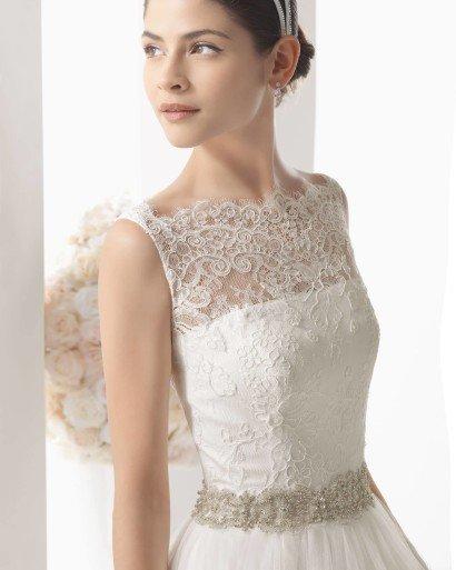 Закрытое свадебное платье MAHON by Two by Rosa Clara.