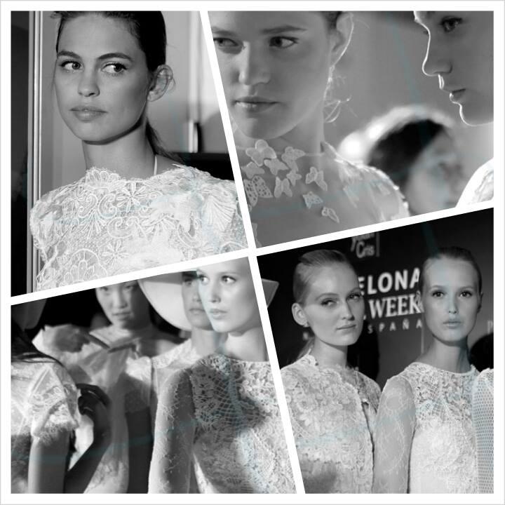 дизайнеры YolanCris создают свои шедевры свадебной моды