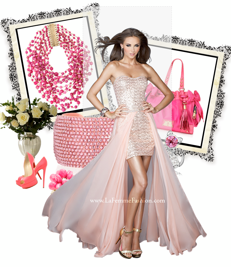 b1a9629891a Платье на выпускной со съёмной длинной юбкой