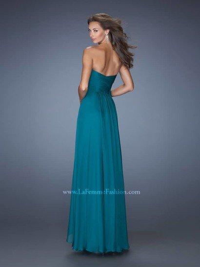 Вечернее платье на свадьбу от La Femme.