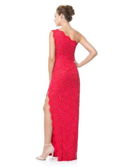 Очень женственное вечернее платье.