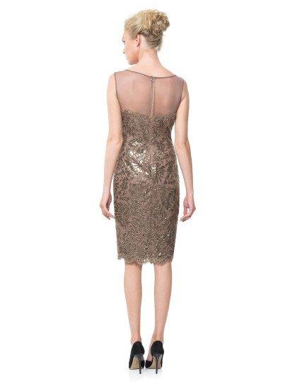Короткое платье футляр 2015.