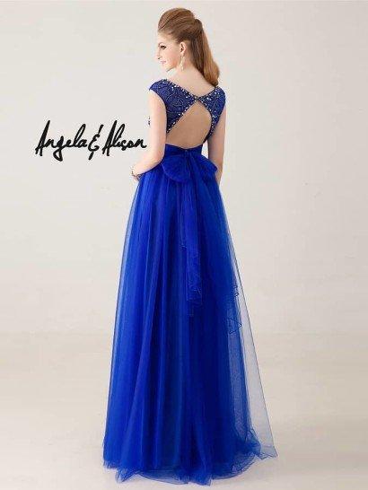 Элегантное вечернее платье на выпускной.