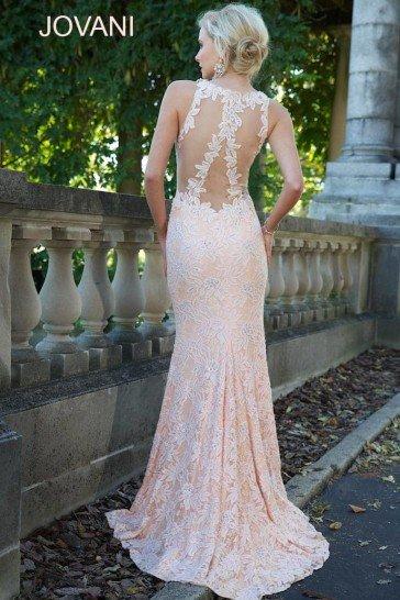Роскошное вечернее платье в пол Jovani.