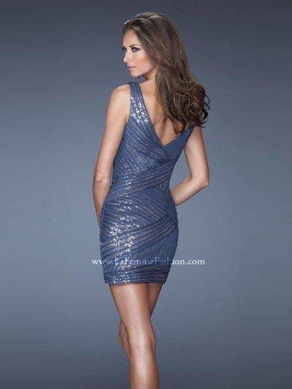 Стильное коктейльное платье La Femme.