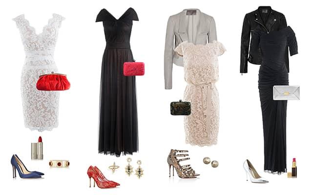 Вечерние платья комплект
