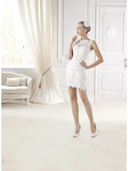 Свадебное платье-трансформер Elise от La Sposa 2015.