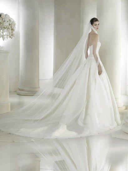 Красивое свадебное платье 2015.