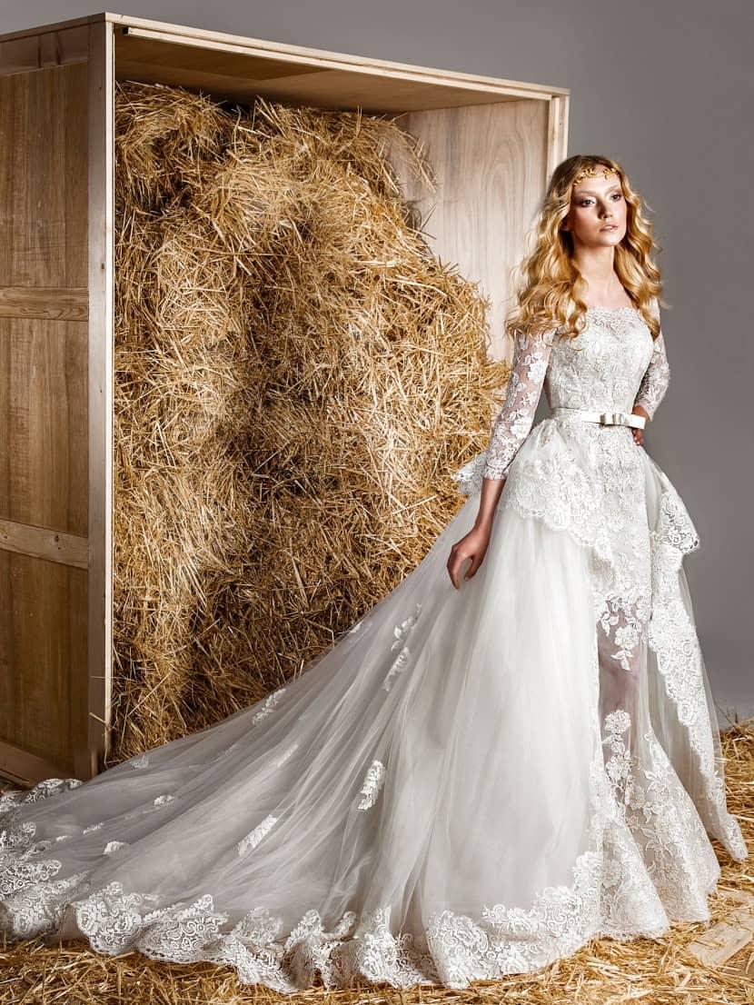 для высоких свадебные платья 2014-2015