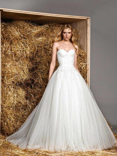 Потрясающее эксклюзивное свадебное платье