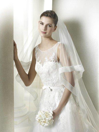 Свадебное платье А-силуэта SABOLA от St. Patrick 2015.