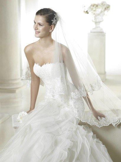 Свадебное платье силуэта русалка SANDRINE от San Patrick.