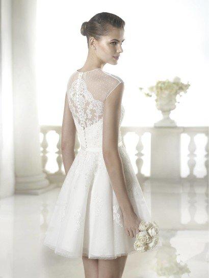 Короткое свадебное платье Shamira от San Patrick.