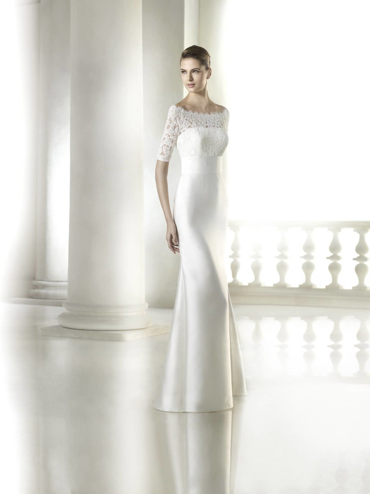 Свадебные шелковые платья