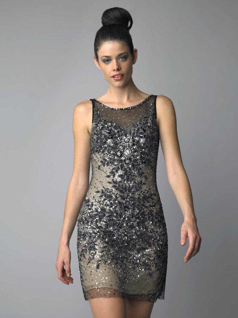 Коктейльное платье с американской проймой.