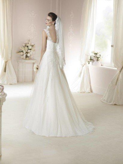 Винтажное свадебное платье 2015.