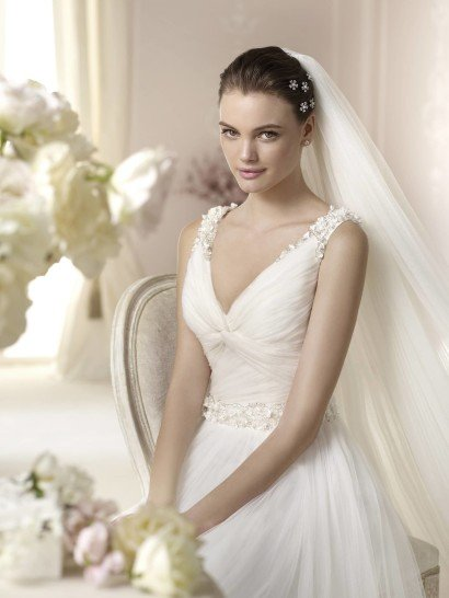 Пышное свадебное платье White One DALINA 2015 года.