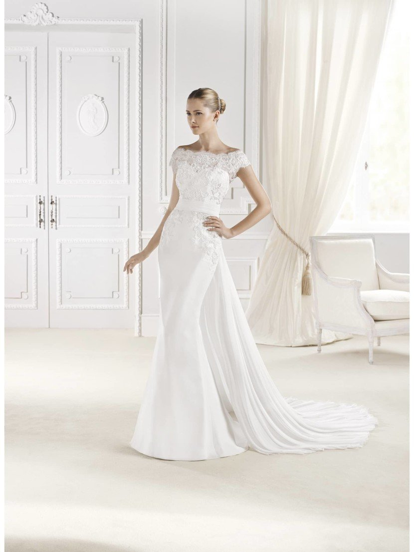 Необычное свадебное платье русалка La Sposa ELURES.