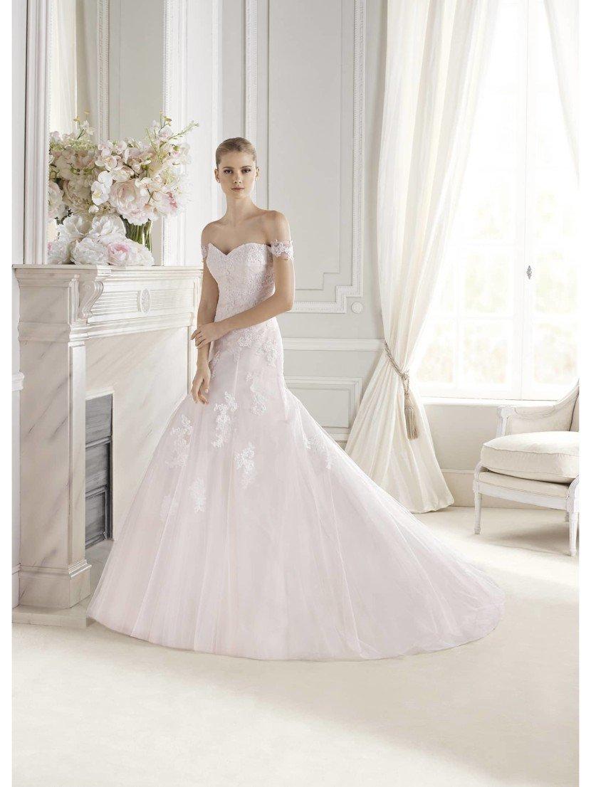 Свадебное платье А-силуэта La Sposa ENOLA.