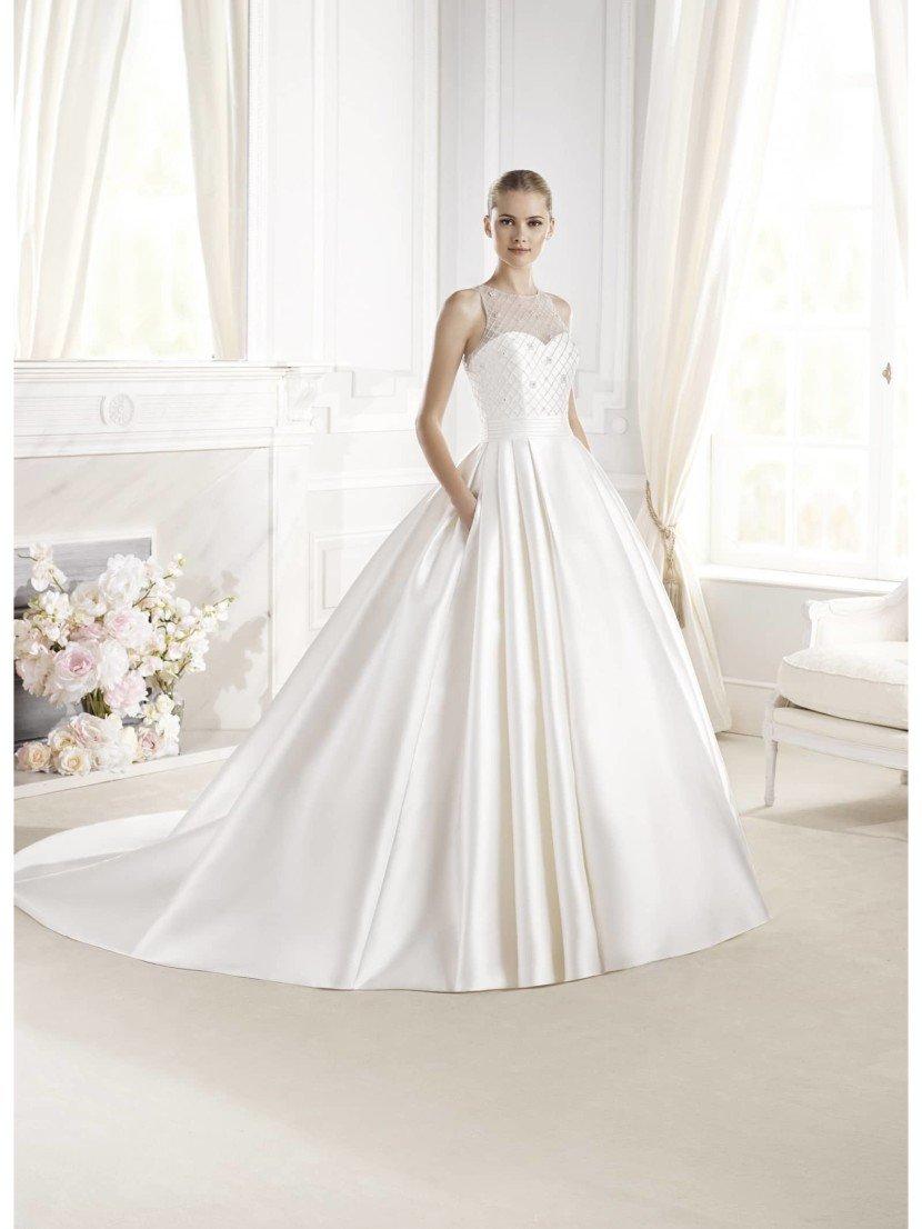 Пышное свадебное платье La Sposa ERVINA 2015 года в салоне Виктория! ✆ +7 495 6276242