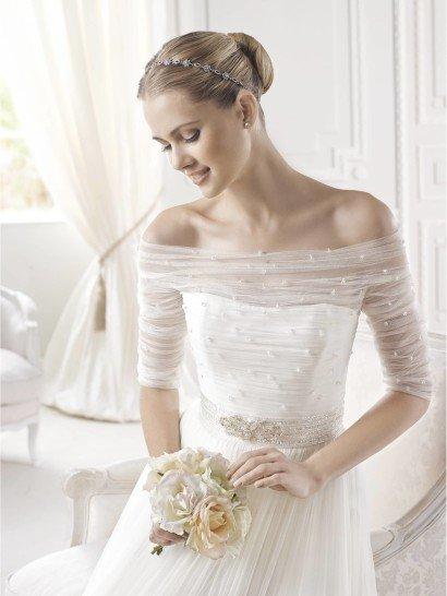 Свадебное платье с рукавами La Sposa ESIEN.