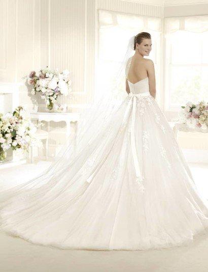 Открытое свадебное платье La Sposa MITRA.