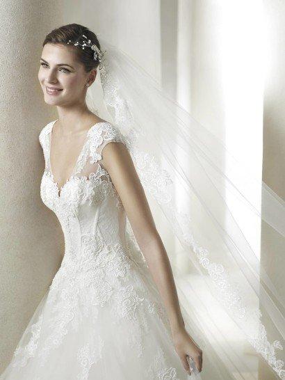 Свадебное платье с вырезом Сан Патрик SABURO.