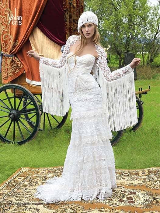 Свадебные хиппи платья