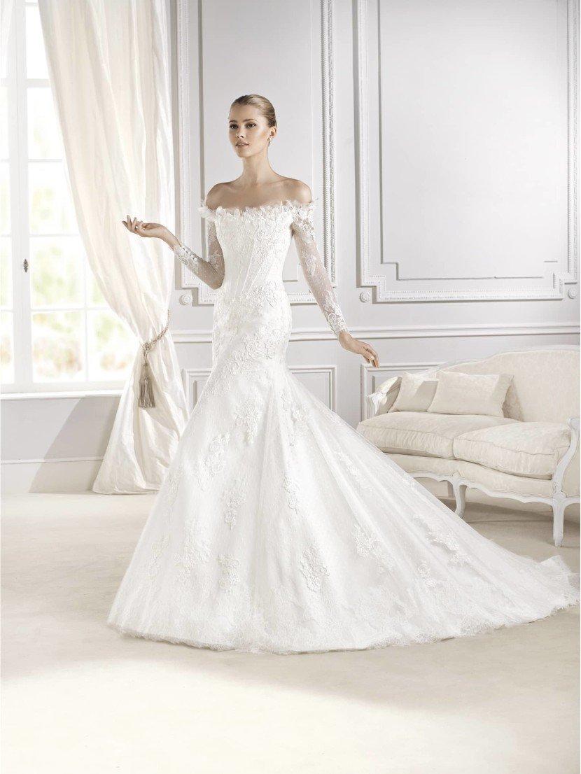 Недорогое свадебное платье русалка La Sposa EKATERINA.