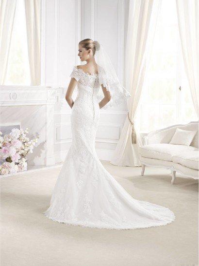 Свадебное платье русалка La Sposa ELWING 2015 года.