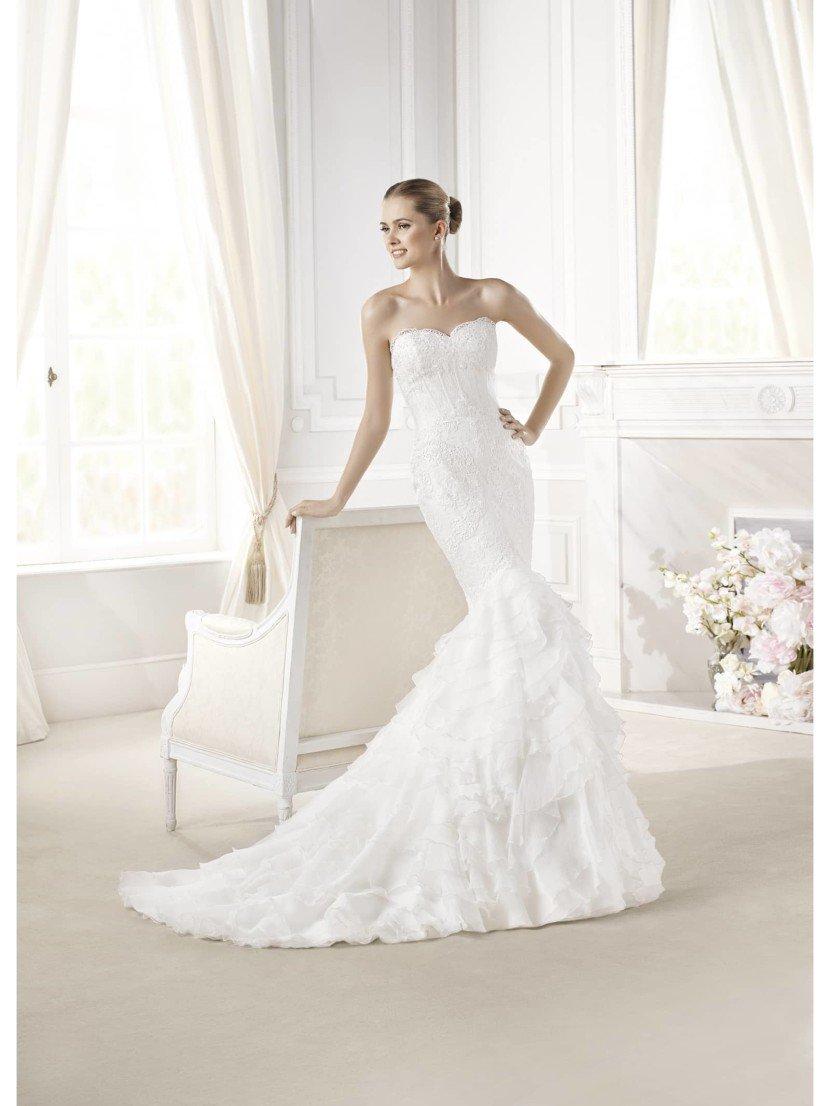 Свадебное платье русалка EUDORA от La Sposa 2015.