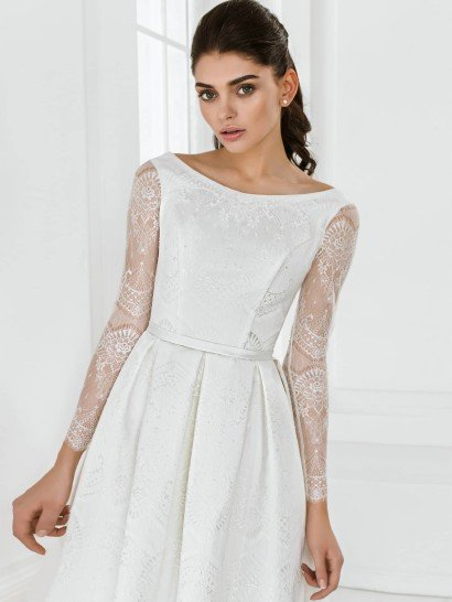 Короткое свадебное платье Моник от Mio Dress 20155.