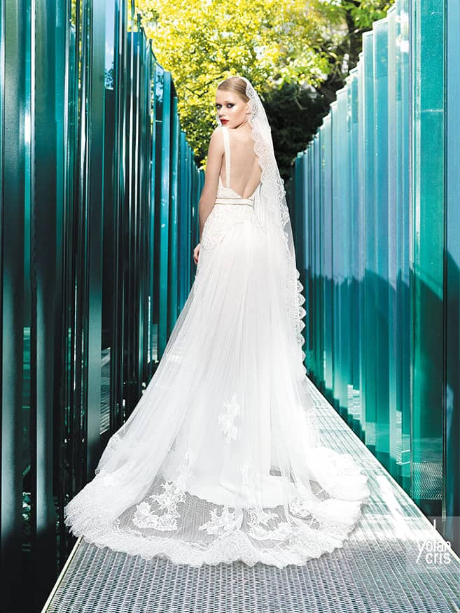 Элегантное свадебное платье 2015.