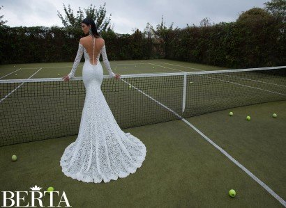 Кружевное свадебное платье 1513 Berta Bridal.