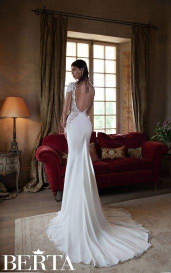 Дорогое свадебное платье 2015 года Berta Bridal 1524.