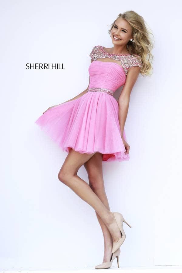 Шерри хилл платья короткие