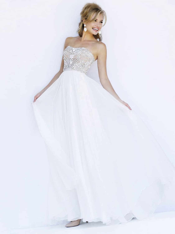 Шерри хилл платье белое