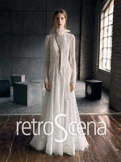 Свадебное платье с рукавами Yolan Cris.