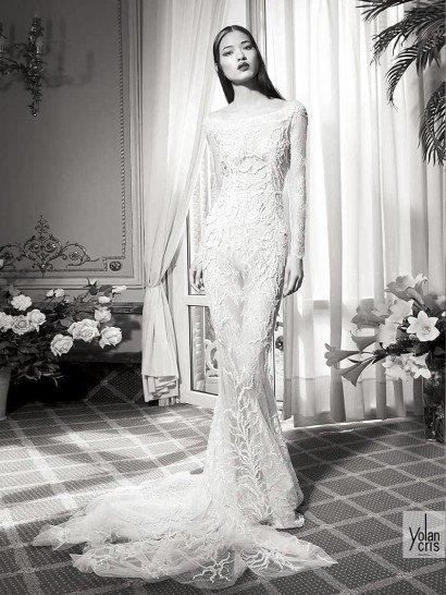 Свадебное платье русалка.