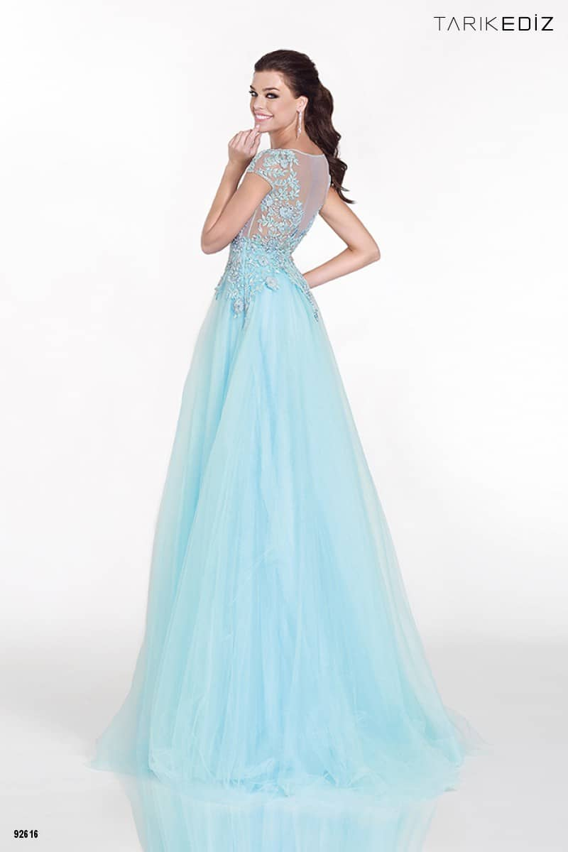 b7b311683d1 Летнее вечернее платье Tarik Ediz KARANFIL ✓ купить в салоне Виктория!